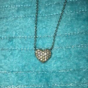 Swarovski Diamonds Heart Necklace!